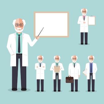 Wetenschappelijk professor.