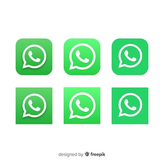 Whatsapp icon collection