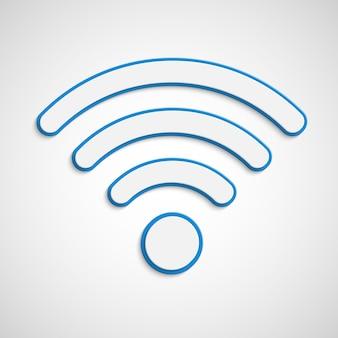 Wifi signaal illustratie