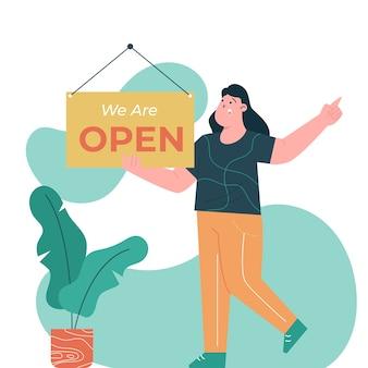 Wij zijn open
