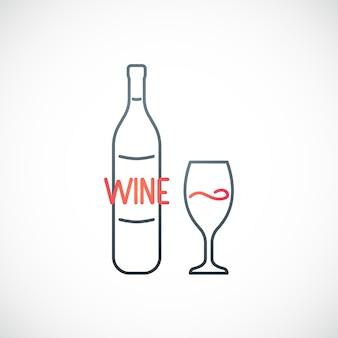 Wijn embleem