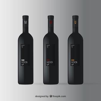 Wijn mockup
