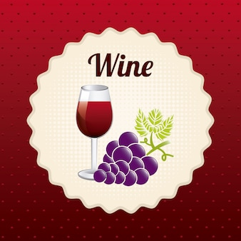 Wijn ontwerp