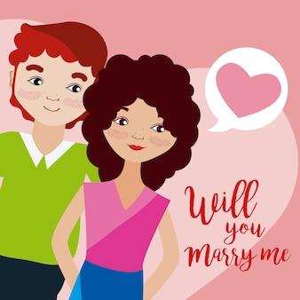 Wil je met me trouwen