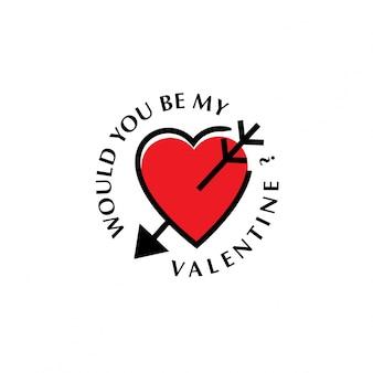 Wil je mijn valentijn zijn
