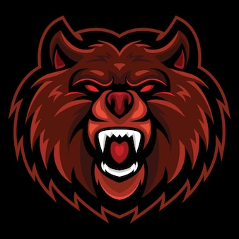 Wild bea esport logo afbeelding