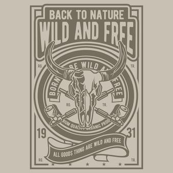 Wild en vrij