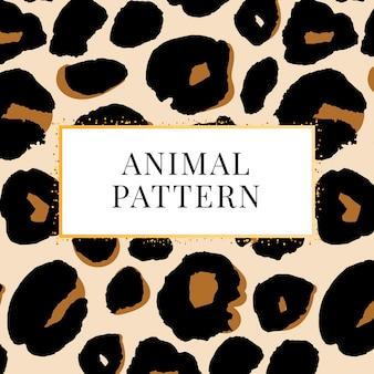 Wild print luipaardpatroon