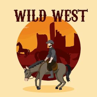 Wild west-concept