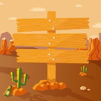 Wild west-poster