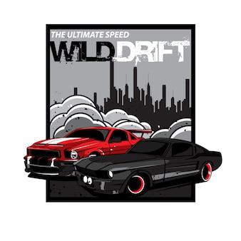 Wilde auto