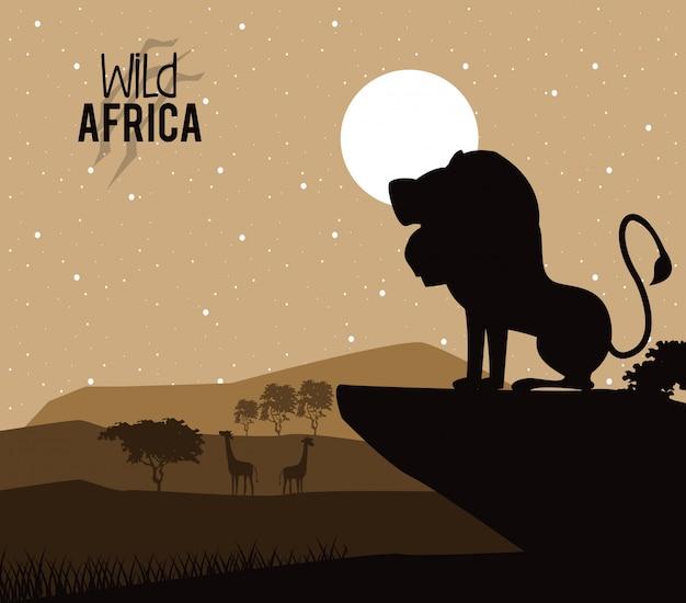 Wilde dieren van afrika