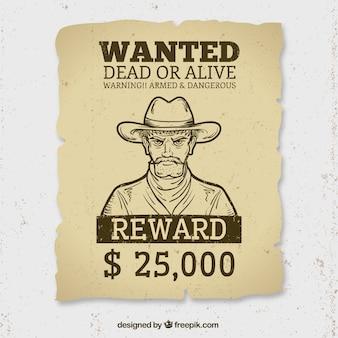 Wilde dood of levend poster