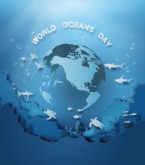 Wildlife onder zee