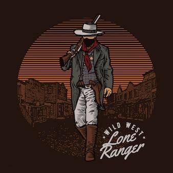 Wildwest cowboy
