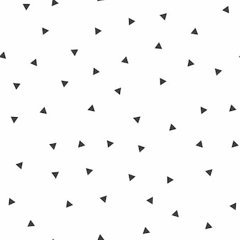 Willekeurig driehoekenpatroon, abstracte achtergrond. geometrische eenvoudige illustratie. creatieve en luxe stijl
