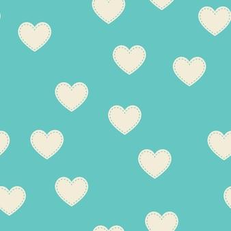 Willekeurig hartenpatroon. valentijnsdag achtergrond voor vakantie sjabloon. creatieve en luxe stijlillustratie