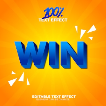 Win teksteffect