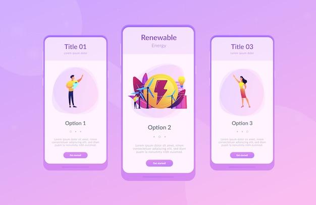 Wind power app-interfacemalplaatje.