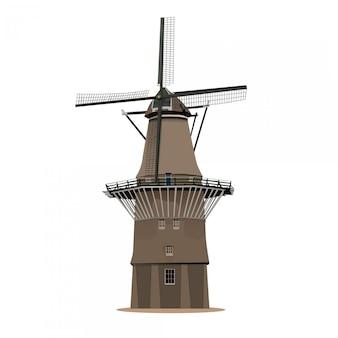 Windmolen rotterdam nederland
