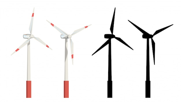 Windturbines instellen
