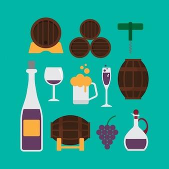Winery elementen