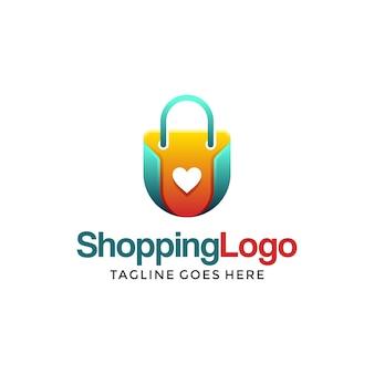 Winkelen logo ontwerp