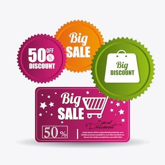Winkelen speciale aanbiedingen, kortingen en promoties