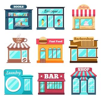 Winkels en winkels in flat