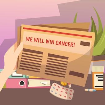 Winnen tegen kanker orthogonale samenstelling