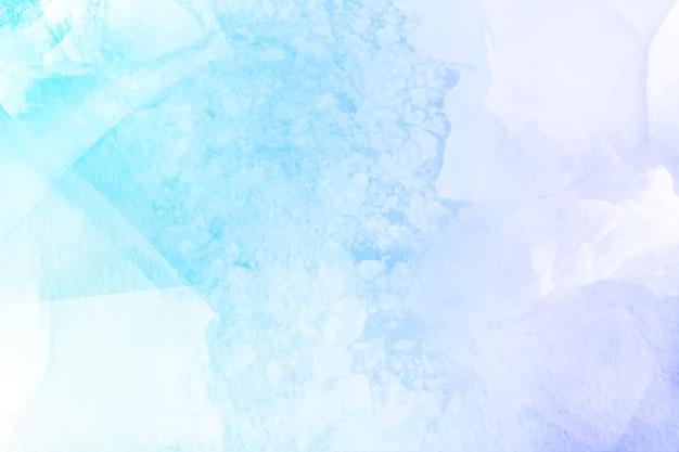Winter achtergrond geschilderd met aquarellen