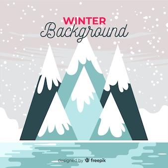 Winter achtergrond