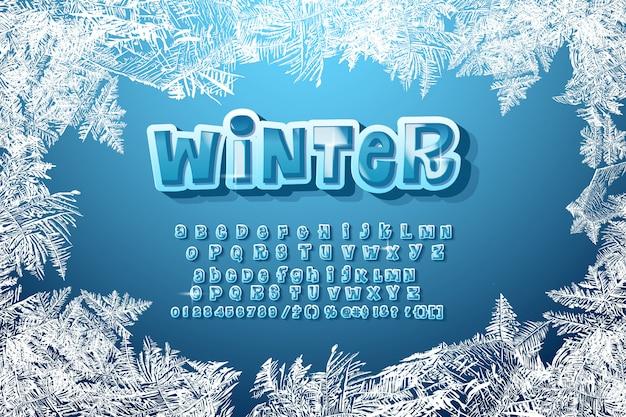 Winter alfabet