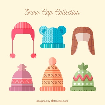 Winter cap set