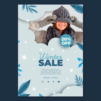 Winter flyer a5 verticaal