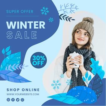 Winter folder sjabloon