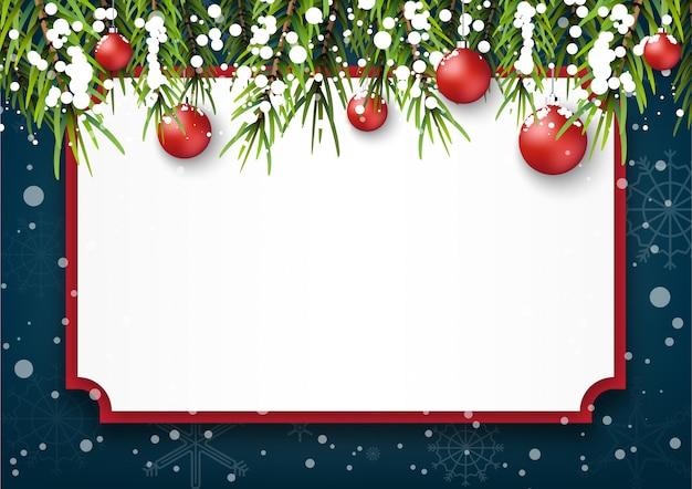 Winter kerstseizoen