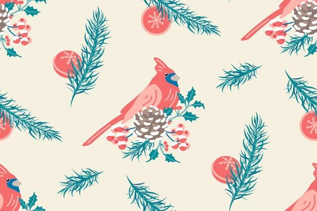 Winter naadloze patroon. vakantie. kerst concept.