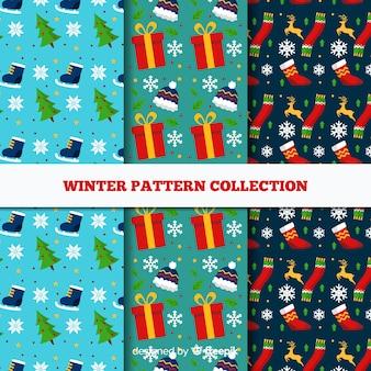 Winter patroon collectie