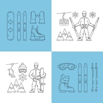 Winter pictogram instellen
