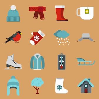 Winter pictogrammen instellen