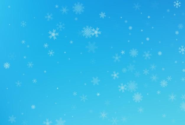 Winter sneeuw achtergrond. vallende sneeuwvlok vector