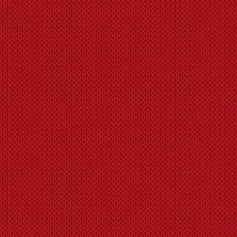 Winter vakantie naadloze breipatroon. naadloze rode breipatroon vector imitatie