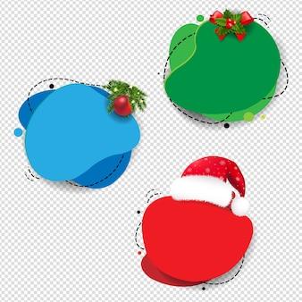Winter verkoop tekstballon geïsoleerd transparante achtergrond