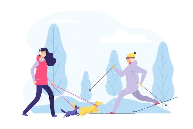 Winter wandelen
