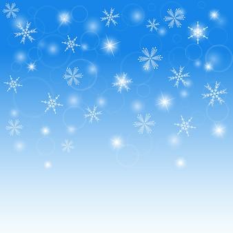 Winterachtergrond, abstracte achtergrond, vectorillustraties