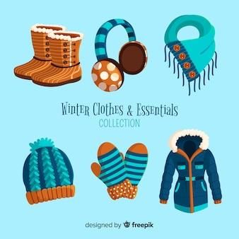 Winterkleren en essentials-collectie
