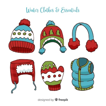 Winterkleren en essentials-collectie