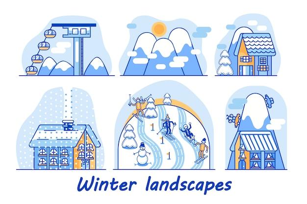 Winterlandschappen