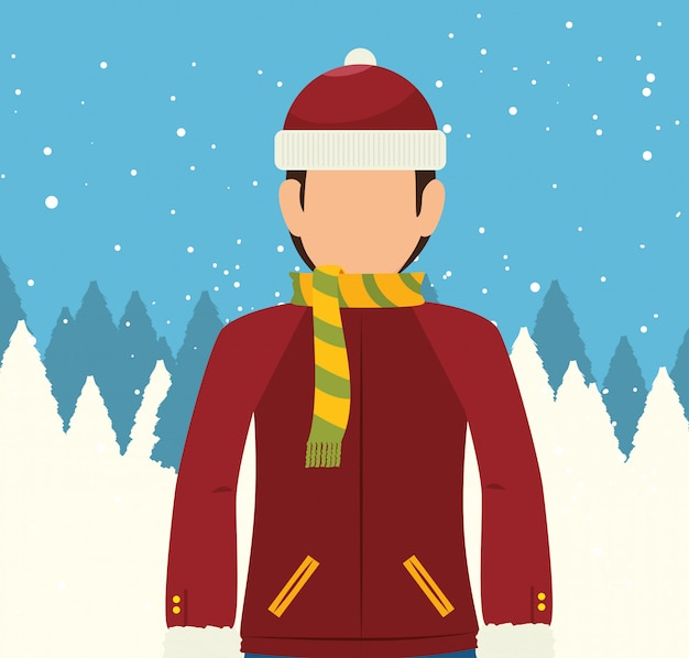 Wintersport en mode dragen